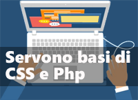 per fare un child theme servono basi di css e php