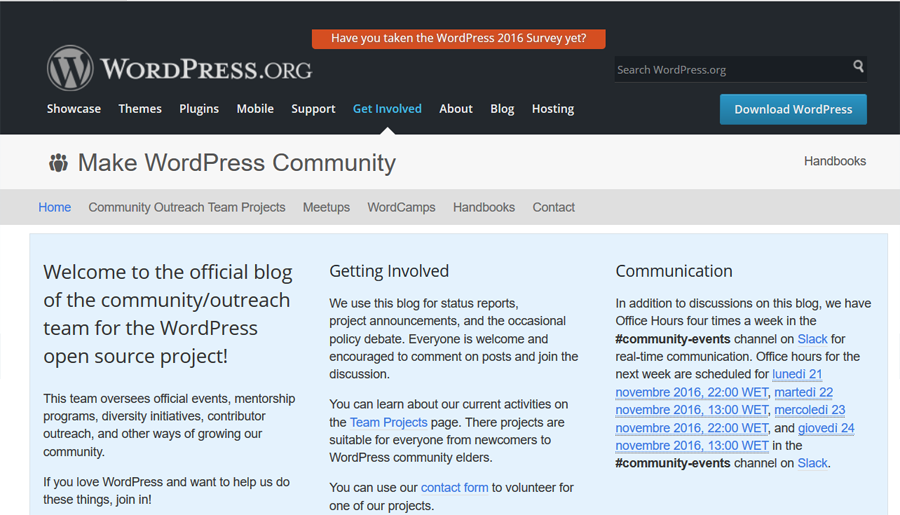 community wordpress-make