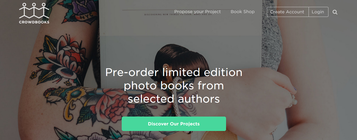 crowdbooks sito wordpress
