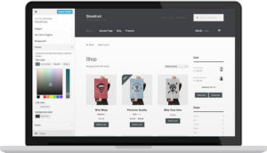 WooCommerce plugin WordPress per il commercio elettronico - schermata generale