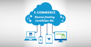 risorse hosting e certificato ssl per e-commerce con WordPress